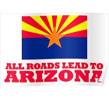 ALL ROADS LEAD TO ARIZONA Fresh Off The Boat Poster