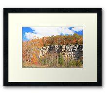 Fall arived on Niagara Escarpment.  Framed Print