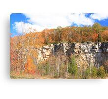 Fall arived on Niagara Escarpment.  Canvas Print