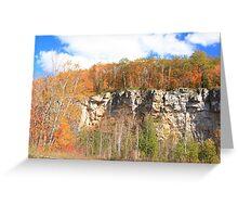 Fall arived on Niagara Escarpment.  Greeting Card