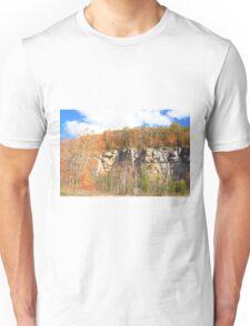 Fall arived on Niagara Escarpment.  Unisex T-Shirt