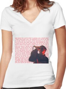 My Youth Is Yours Women's Fitted V-Neck T-Shirt