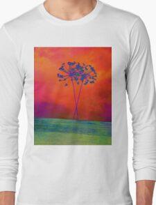 Winters Flowers  Long Sleeve T-Shirt