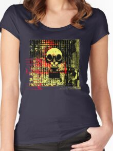Post apocalyptic dreams Women's Fitted Scoop T-Shirt