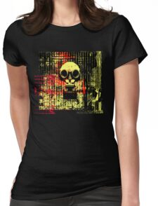 Post apocalyptic dreams Womens Fitted T-Shirt