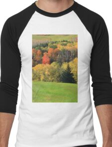 Fall in the valley. Men's Baseball ¾ T-Shirt