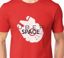 "Millenium Falcon from Star Wars ""Uber Space"" Unisex T-Shirt"