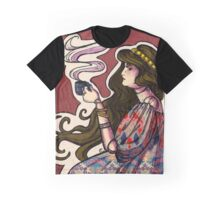 Clockwork Cafe Graphic T-Shirt
