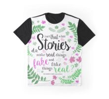 Isn't That What Stories Do: The Winner's Kiss in Ivory Graphic T-Shirt
