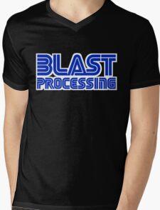 Blast Processing Mens V-Neck T-Shirt
