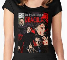 The Satanic Rites of Dracula Women's Fitted Scoop T-Shirt