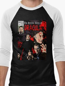 The Satanic Rites of Dracula Men's Baseball ¾ T-Shirt