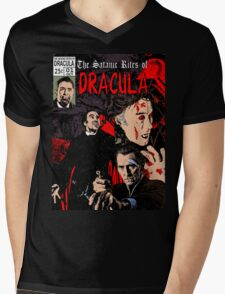 The Satanic Rites of Dracula Mens V-Neck T-Shirt