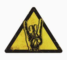 Heavy metal warning One Piece - Short Sleeve