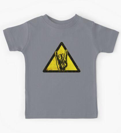Heavy metal warning Kids Tee