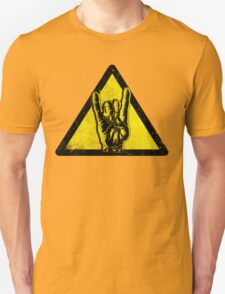 Heavy metal warning T-Shirt
