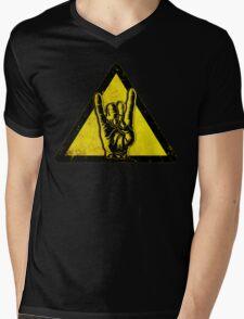 Heavy metal warning Mens V-Neck T-Shirt