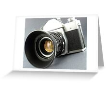 Photographic camera Greeting Card