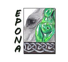 Epona Celtic Goddess Photographic Print