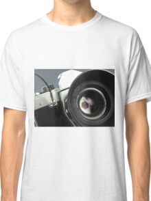 Camera in action. Classic T-Shirt