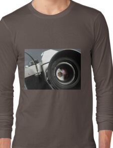 Camera in action. Long Sleeve T-Shirt