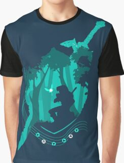 Legend of Zelda - Link's Ocarina Graphic T-Shirt