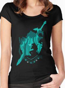 Legend of Zelda - Link's Ocarina Women's Fitted Scoop T-Shirt