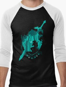 Legend of Zelda - Link's Ocarina Men's Baseball ¾ T-Shirt