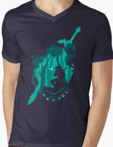 Legend of Zelda - Link's Ocarina Mens V-Neck T-Shirt