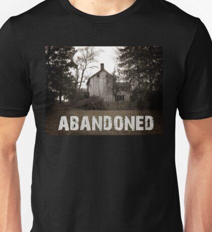 Abandoned House on the Corner Unisex T-Shirt