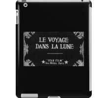 A Trip to the Moon - Original Title - Méliès iPad Case/Skin