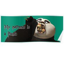 My Patronus is a Panda Poster