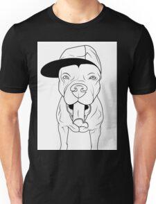 dogs, cute puppy pitbull Unisex T-Shirt