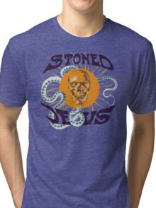 Stoned Jesus Artwork Tri-blend T-Shirt