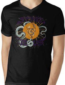 Stoned Jesus Artwork Mens V-Neck T-Shirt
