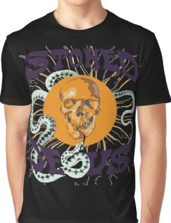 Stoned Jesus Artwork Graphic T-Shirt
