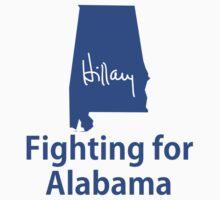 Alabama for Hillary One Piece - Short Sleeve