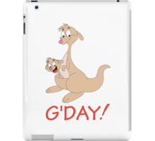 G' DAY iPad Case/Skin