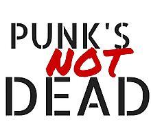 Punk's NOT dead Photographic Print