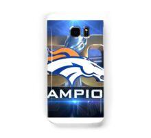 Denver Broncos Super Bowl Champions Samsung Galaxy Case/Skin