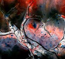 Bleeding heart trees Sticker