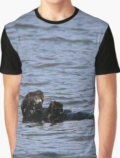 Sea otter-Seward Alaska Graphic T-Shirt