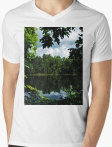 Window in the Wilderness Mens V-Neck T-Shirt