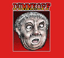 Dummkopf Man Women's Fitted Scoop T-Shirt