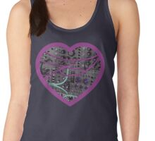 Modular Heart (Magenta) Women's Tank Top