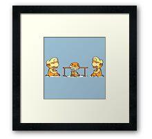 Mario & Lugi - Koopa Troopa Shell Framed Print