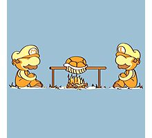 Mario & Lugi - Koopa Troopa Shell Photographic Print