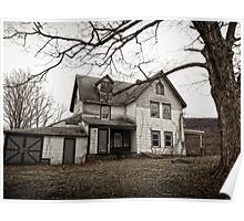 Haunted Farmhouse Poster
