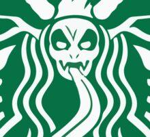 Krampuspresso - Caffeine Demon (BLACK) Sticker