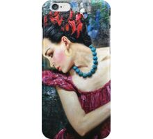 BLUE NECKLACE iPhone Case/Skin